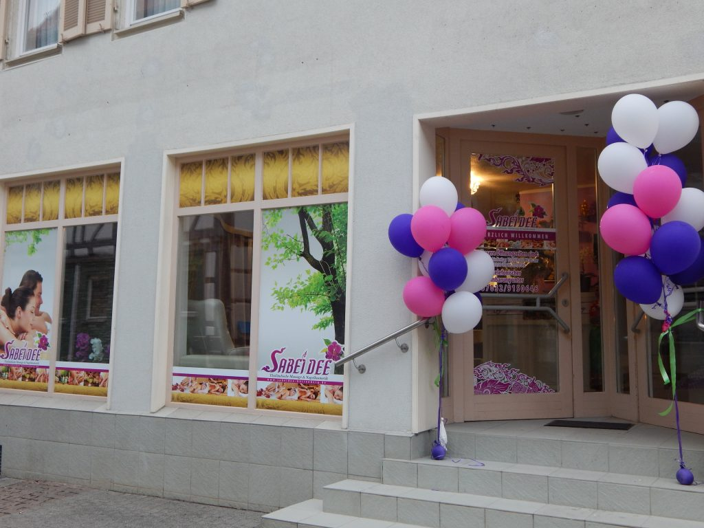 Sabeidee Herrenberg Eingangsbereich