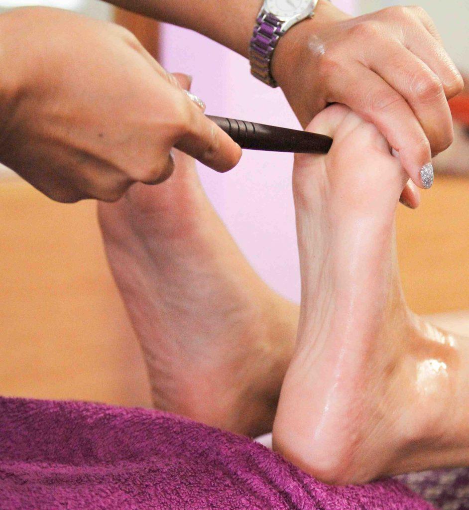 Thaimassage Herrenberg Fußreflexzonen Massage